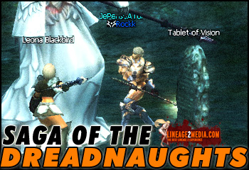 Saga of the Dradnaughts LIneage 2 Third Class Change Quest Occupation