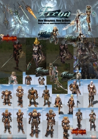 Lineage 2 Media - Lineage 2 Freya New ARmors Weapons and Patch Notes