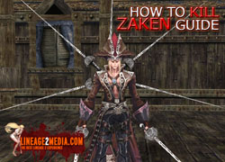 how to kill zaken guide