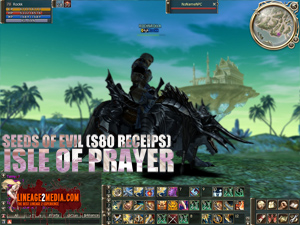 lineage 2 isle of prayer s80 receips