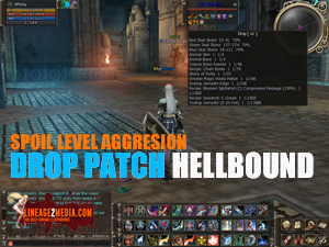 Drop Patch / Spoil Mobs Level / Aggresion Patch for HELLBOUND Lineage 2